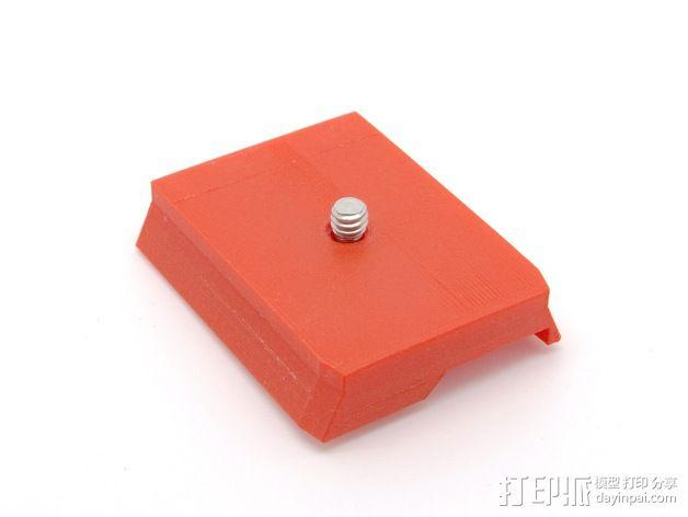501适配器 3D模型  图1