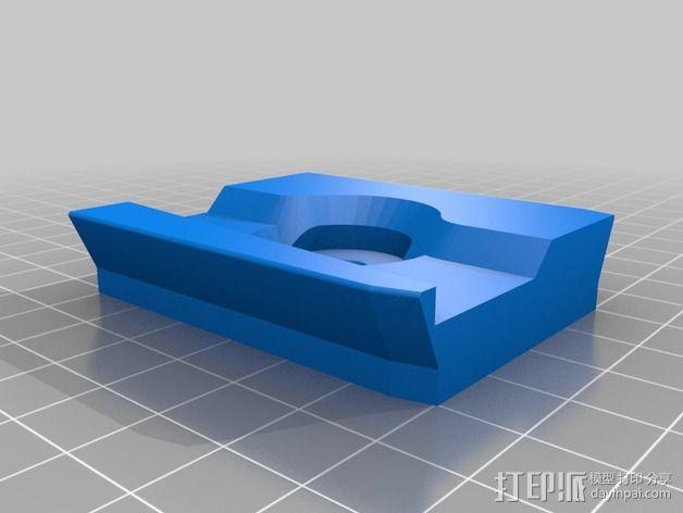 501适配器 3D模型  图4