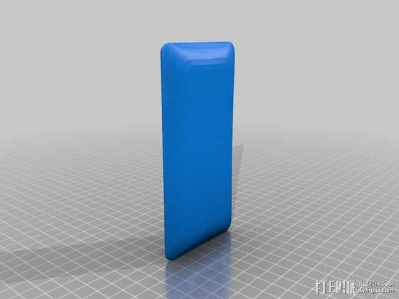 HTC 8x手机壳 3D模型  图1
