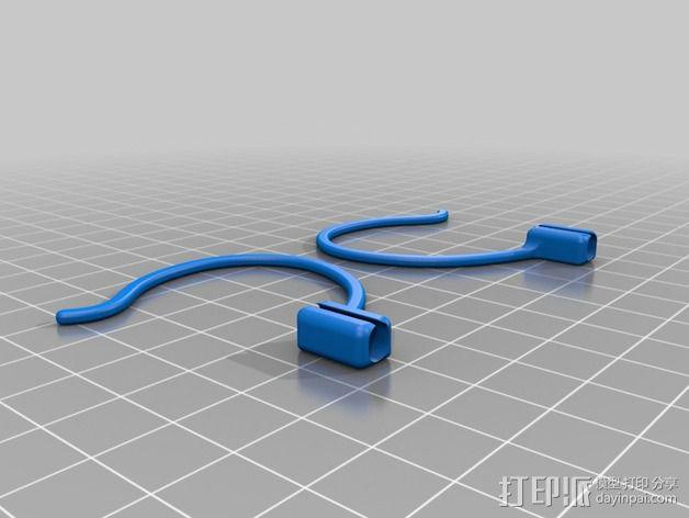 苹果耳机适配器 3D模型  图3