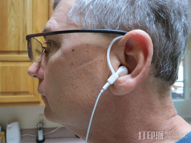 苹果耳机适配器 3D模型  图2