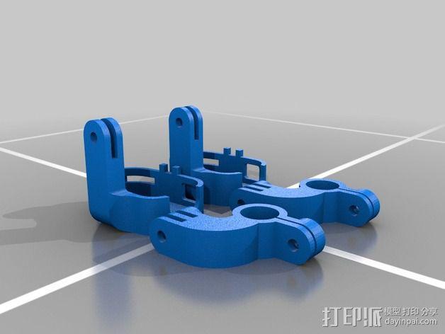 808 Keychain 相机适配器 3D模型  图4