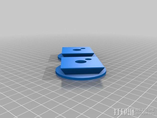 Quick Release Camera 三角架 3D模型  图6