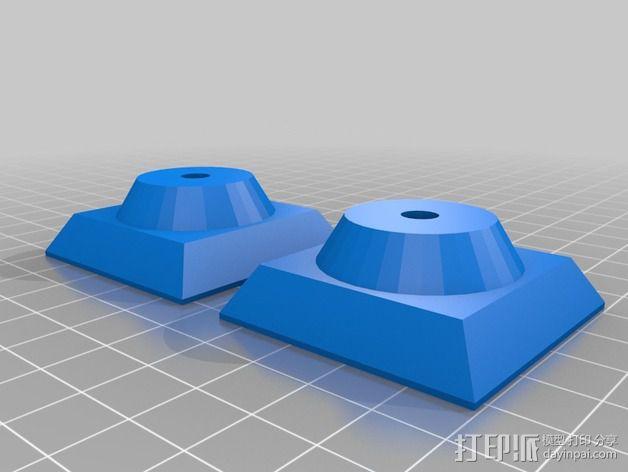 Quick Release Camera 三角架 3D模型  图7
