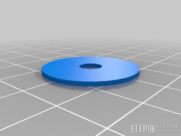 Quick Release Camera 三角架 3D模型  图8