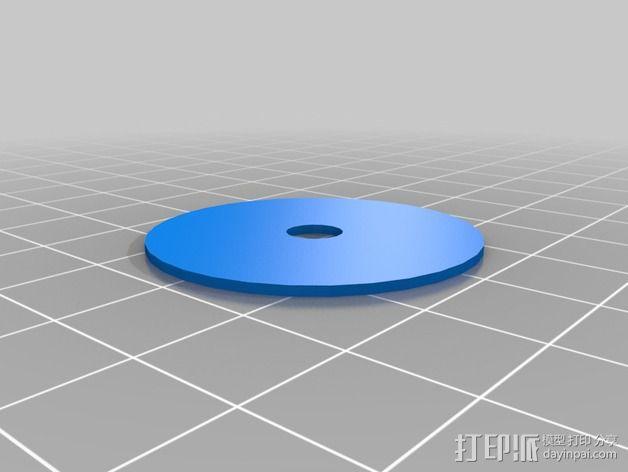 Quick Release Camera 三角架 3D模型  图10