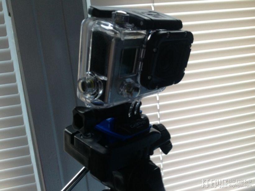 GoPro 三脚架适配器 3D模型  图1