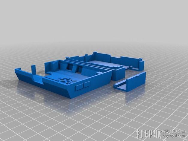 Raspberry Pi 保护壳 3D模型  图2