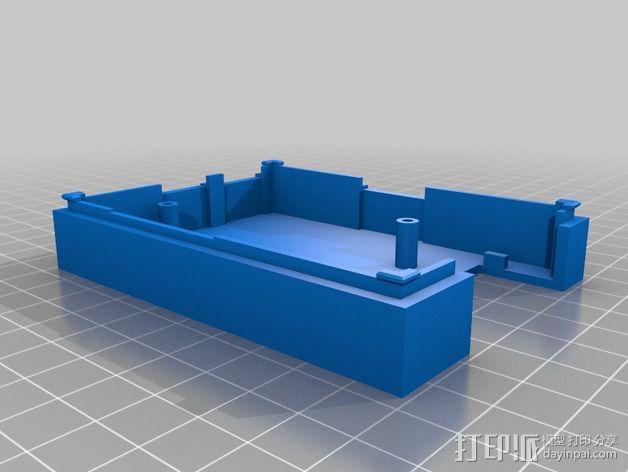Raspberry Pi 保护壳 3D模型  图4
