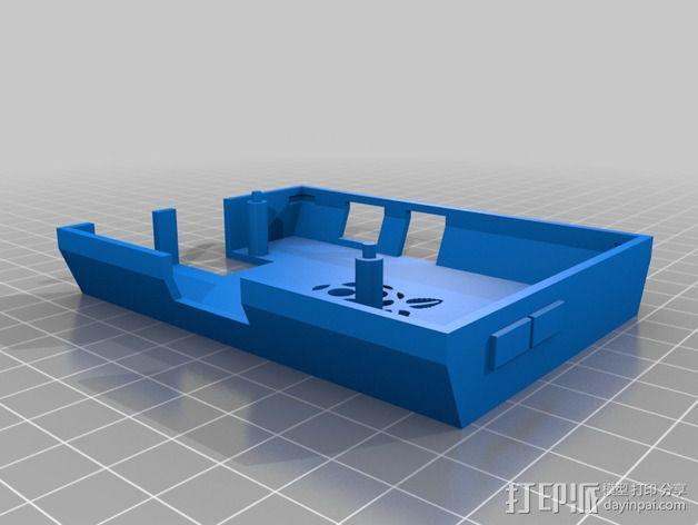 Raspberry Pi 保护壳 3D模型  图5