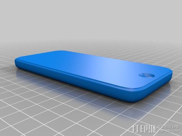 iPhone 5C手机壳 3D模型  图3