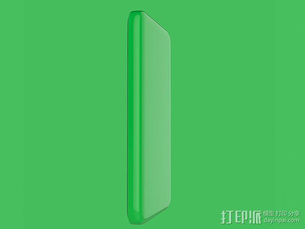 iPhone 5C手机壳 3D模型  图2