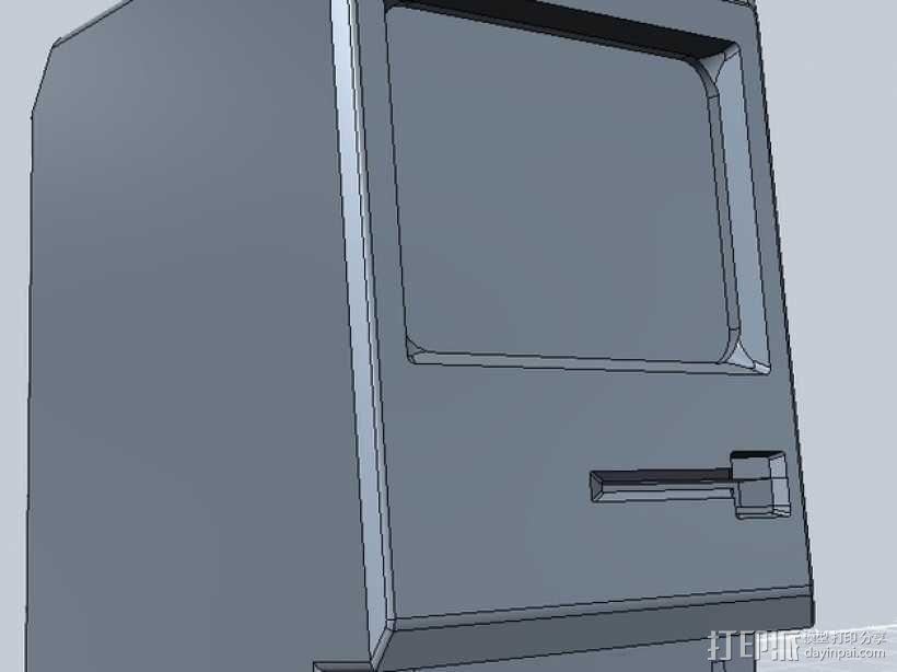 Mac Plus 3D模型  图1
