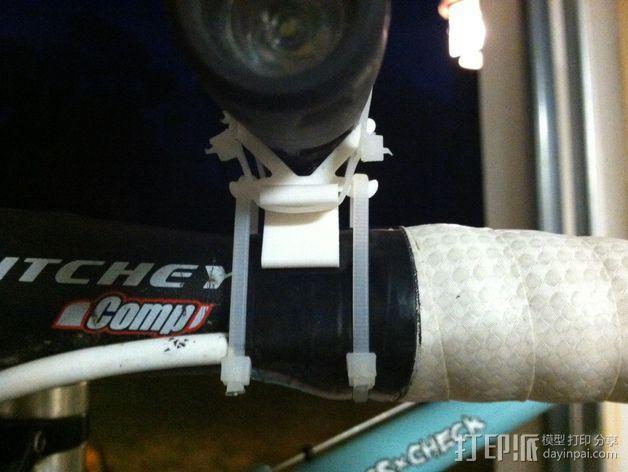 自行车灯支架 3D模型  图5