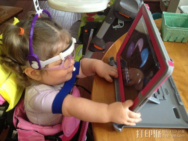 儿童动态头戴仪 3D模型  图2