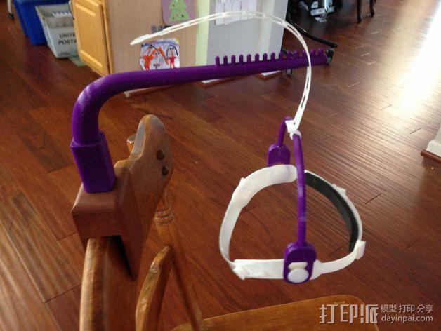 儿童动态头戴仪 3D模型  图3