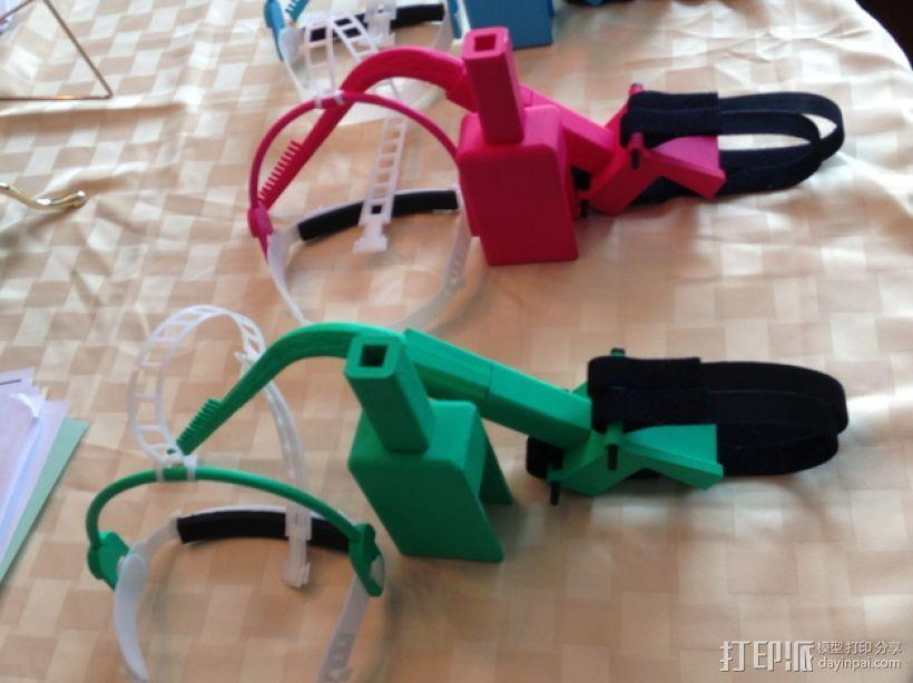 儿童动态头戴仪 3D模型  图1