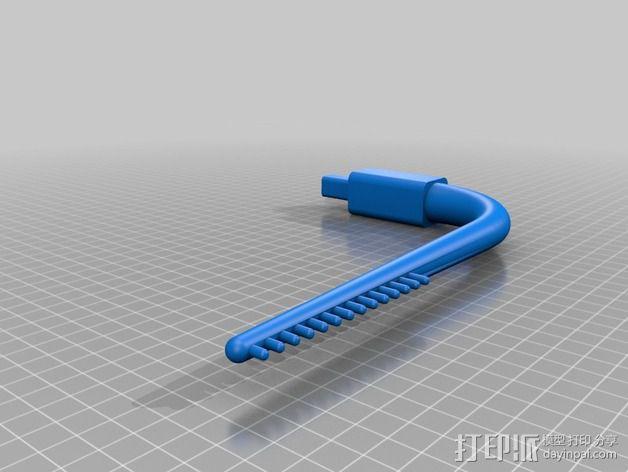 儿童动态头戴仪 3D模型  图4