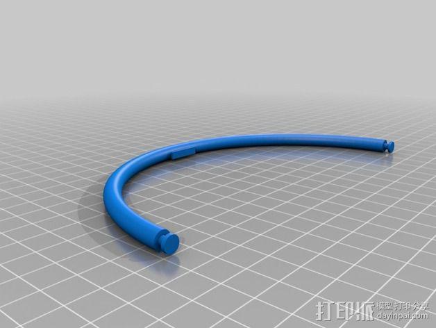 儿童动态头戴仪 3D模型  图5