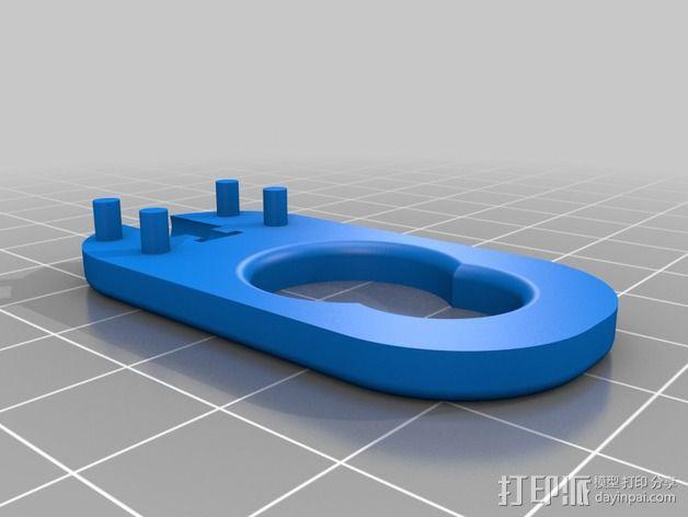 儿童动态头戴仪 3D模型  图6
