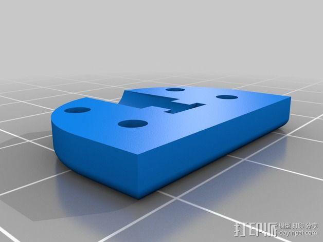 儿童动态头戴仪 3D模型  图7