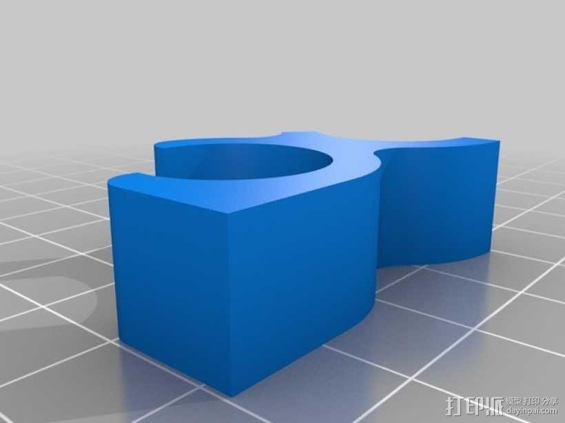 苹果无线键盘适配器 3D模型  图4