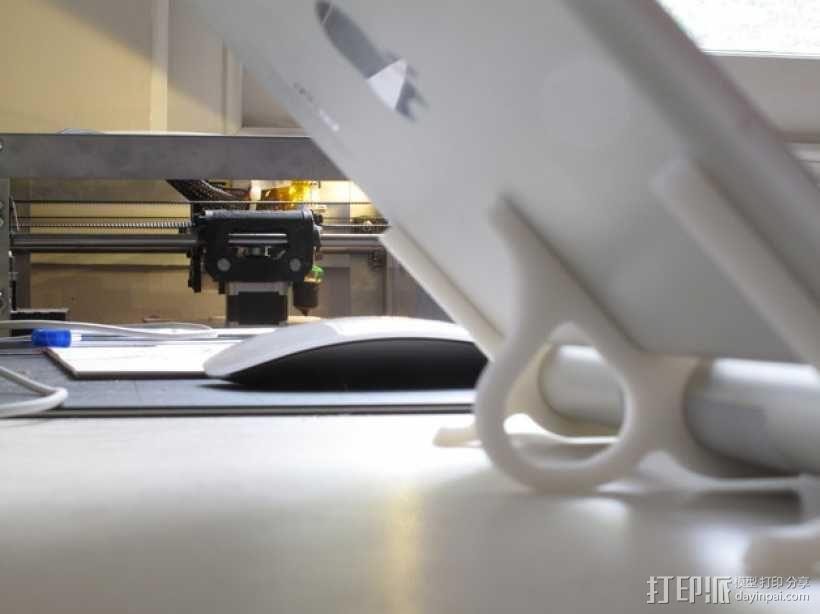 苹果无线键盘适配器 3D模型  图6
