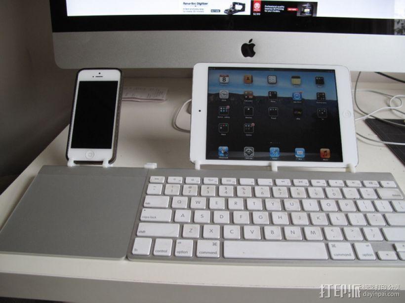 苹果无线键盘适配器 3D模型  图5