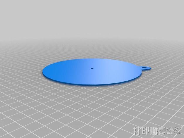 纸张针孔计算器 3D模型  图7