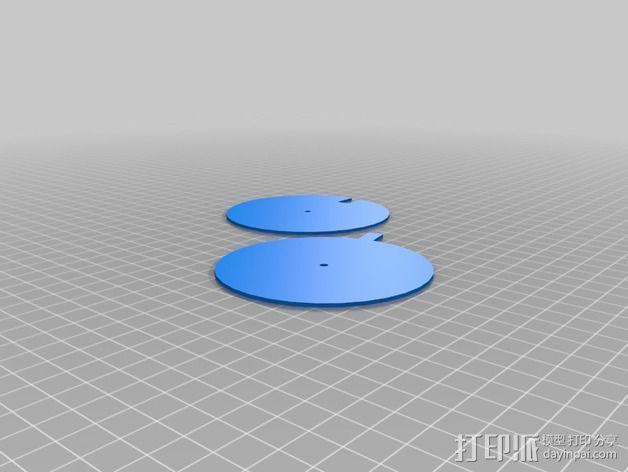 纸张针孔计算器 3D模型  图8