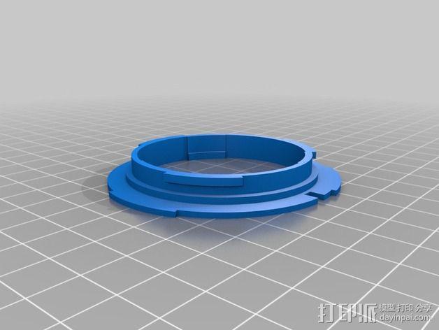 Canon EOS 镜头 3D模型  图1