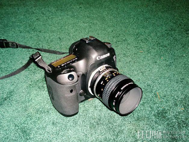 Canon EOS 镜头 3D模型  图3