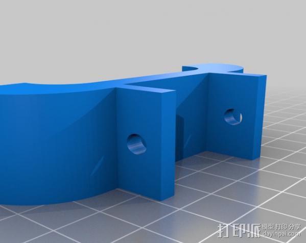 Iphone 5手机座 3D模型  图3