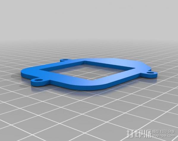 Fostex T50RP框架 3D模型  图1