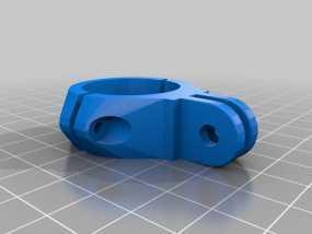 Go Pro适配器 3D模型