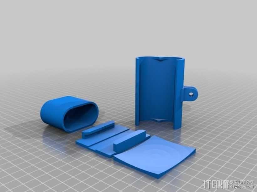 Sony Action Cam适配器 3D模型  图2