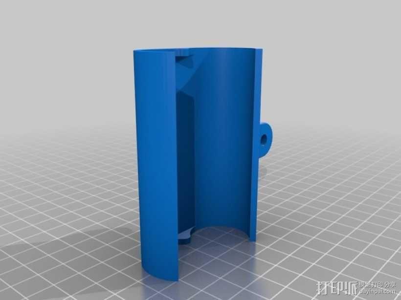 Sony Action Cam适配器 3D模型  图7