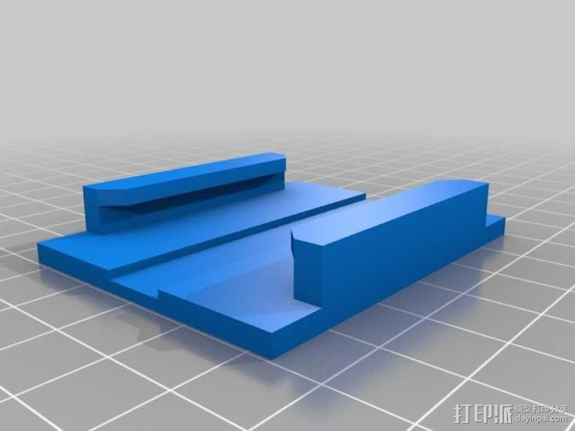Sony Action Cam适配器 3D模型  图6
