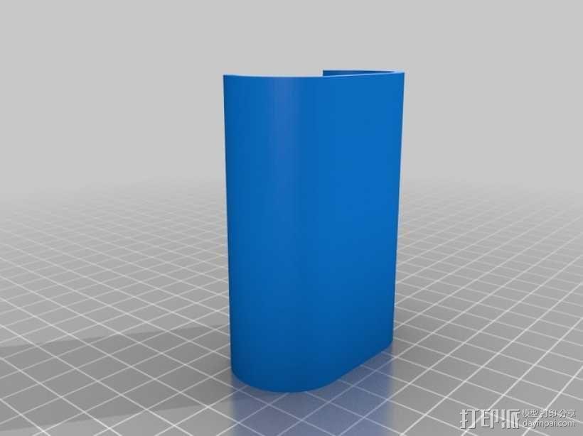 Sony Action Cam适配器 3D模型  图8