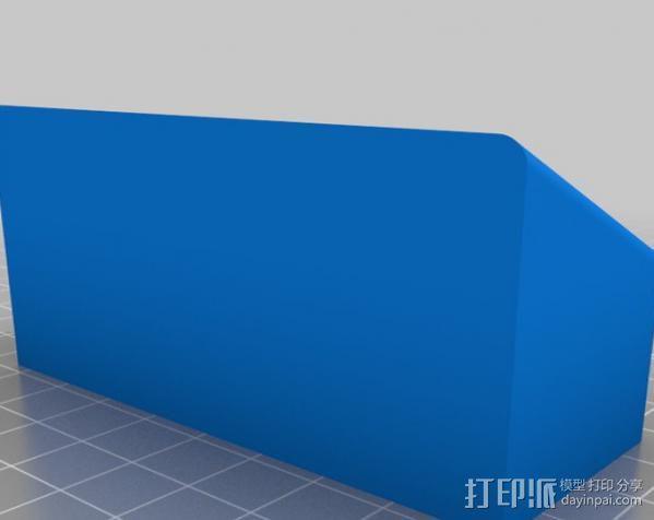 充电手机座 3D模型  图2