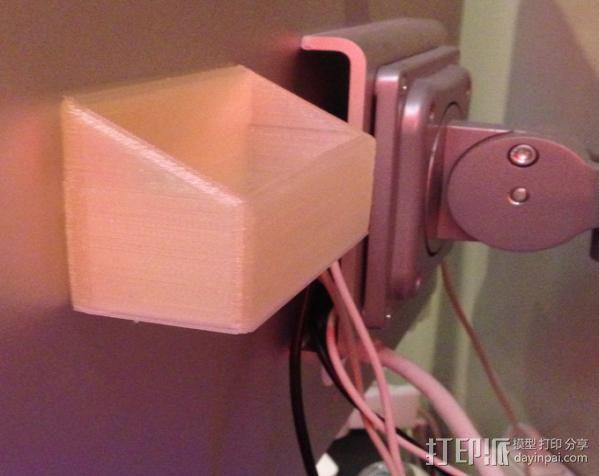 充电手机座 3D模型  图3