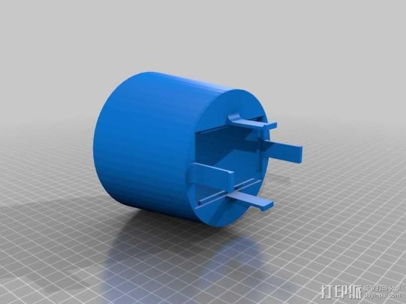 柔光罩子 3D模型  图2