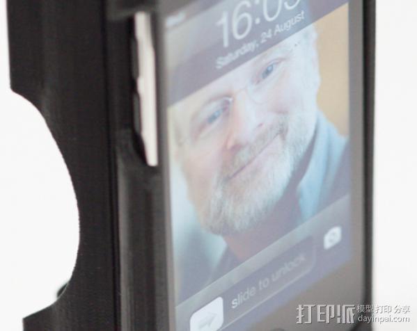 iPod touch三脚架 3D模型  图2