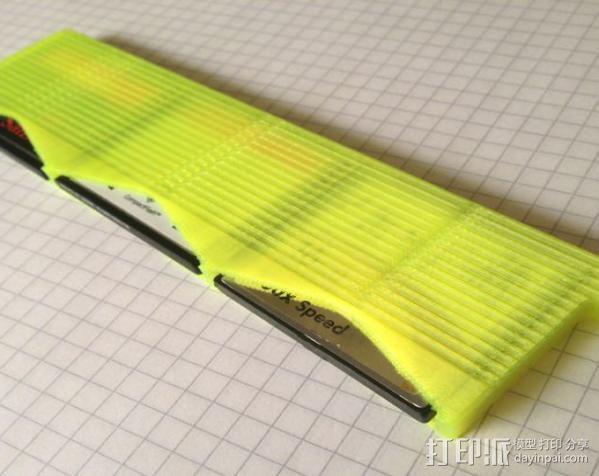 存储卡存放器 3D模型  图3