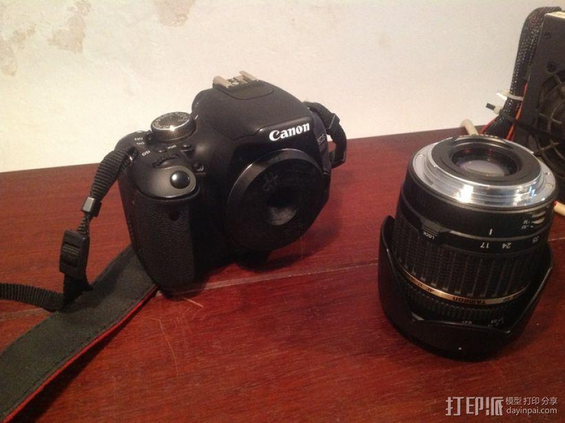 Canon EF 镜头盖 3D模型  图1