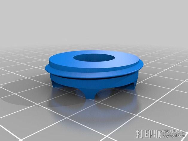 控制模块 3D模型  图2