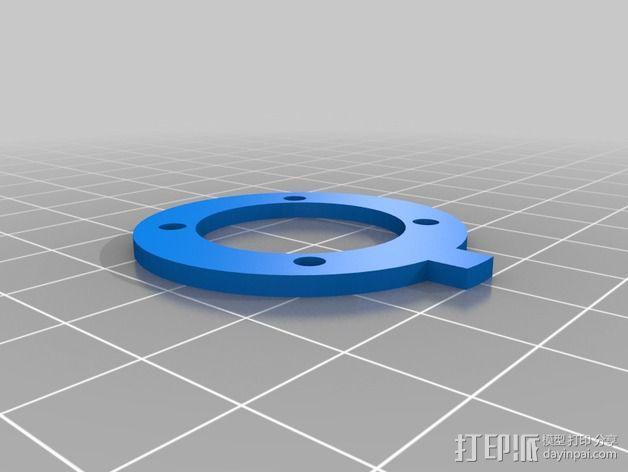 控制模块 3D模型  图5