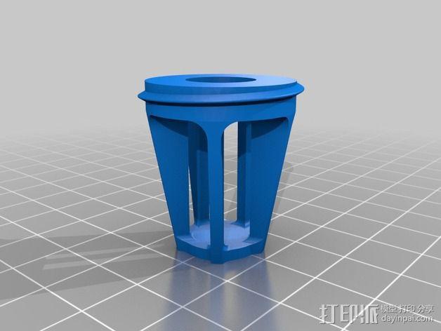 控制模块 3D模型  图6