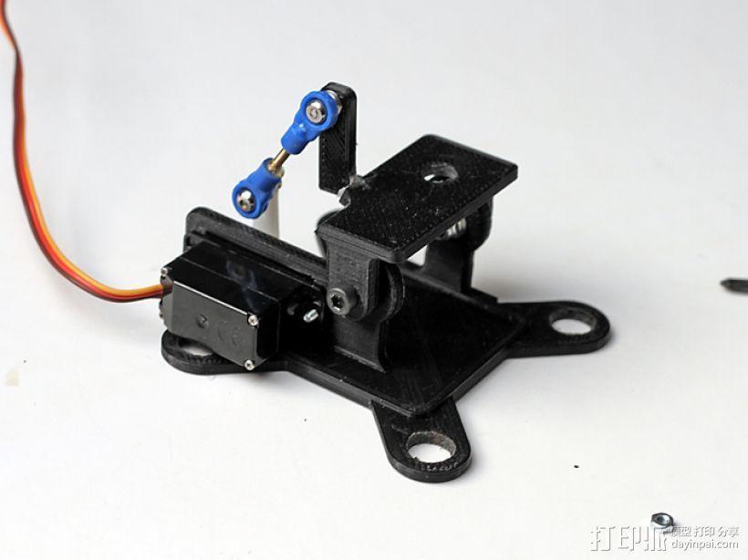 相机适配器 3D模型  图1