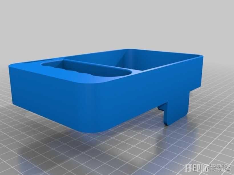 Gopro hero2 适配器 3D模型  图2